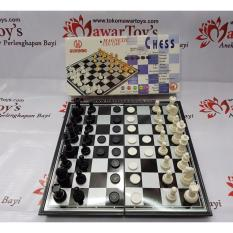 Catur Magnet/Magnetic Chess Merk Gunindo (Ukuran Large) (ORIGINAL)