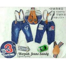 Jual Celana Jeans Overall Celana Panjang Anak Online Jawa Timur