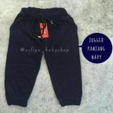 Celana  Joger Anak polos uk S anak 2-3 tahun