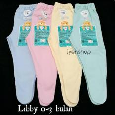 Celana Panjang Bayi Libby New Born(0-3 Bulan) Tutup Kaki
