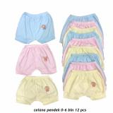 Dapatkan Segera Celana Pendek Bayi Warna Lily Isi 12 Pcs Umur 6 Bulan Celana Santai Celana Rumah Anak Laki Laki Anak Perempuan