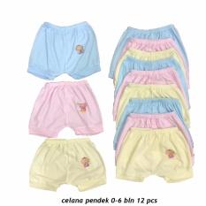 Toko Celana Pendek Bayi Warna Lily Isi 12 Pcs Umur 6 Bulan Celana Santai Celana Rumah Anak Laki Laki Anak Perempuan Padie Di Jawa Timur
