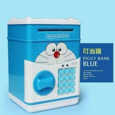 Celangan Anak Brangkas Karakter Doraemon Dapat Uang Mainan Asli