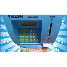Celengan Atm Mini Frozen Mesin Hitung Saldo Uang Kertas Dan Koin - L5E93G