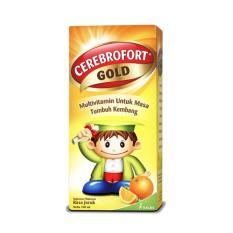 ... TUMBUH KEMBANG ANAK NUTRISI OTAK ANAK. Rp 17.100. Cerebrofort Gold Orange 100 Ml - Syrup Rasa Jeruk, Multivitamin Anak,