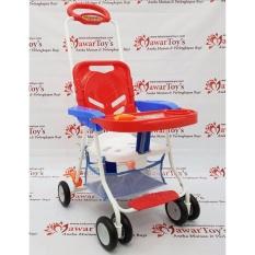 Diskon Chair Stroller Family Fc 8288 Red Original Branded