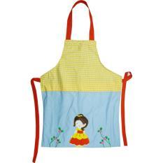 Char & Coll Kids Apron / Celemek Anak untuk Melukis Bisa Bordir Nama - Princess Belle