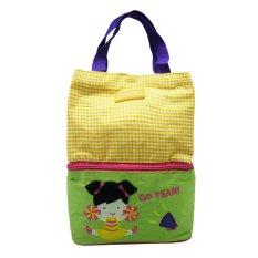 Diskon Char Coll Tas Makan Bekal Bento Lunch Bag Cheers Free Custom Nama Akhir Tahun