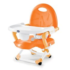 Beli Chicco Pocket Snack Booster Seat Kursi Makan Anak Tinggi Orange Kredit