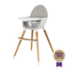 Childcare Pod Timber Baby High Chair Feeding WOODEN Highchair - intl