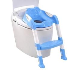 Anak-anak Baby Potty Seat dengan Tangga Kursi Toilet Pee Potties Pelatihan Kursi-Intl