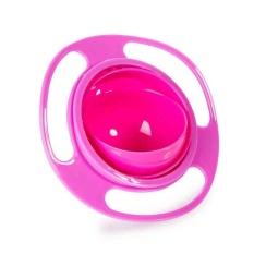 Anak-anak Bayi Universal 360 Derajat Rotate Spill-Proof Gyro Mangkuk Piring-Intl
