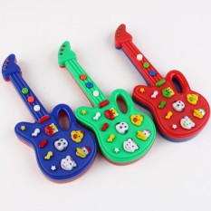 Children Electronic Piano Guitar Toy Cute Cartoon Animals Music Toy Intellectual Development Random Color Style:Random color Lucky-G - intl