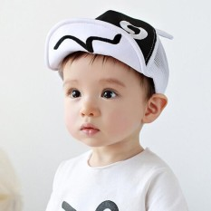 Topi Anak-anak Jaring-jaring Musim Panas Lembut Brim Flanging Topi Pantai  Topi Bisbol 9f337dfd90