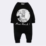Toko Anak Bayi Keren Baju Terusan Lengan Panjang Melompat Suit Hitam Oem Di Tiongkok
