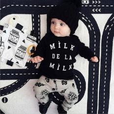 Harga Hemat Pakaian Anak Anak Musim Semi Dan Musim Gugur Lengan Panjang Pine Celana Katun Eropa Dan Amerika Serikat Jas Bayi Intl