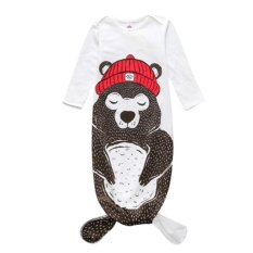 Spesifikasi Anak S Pakaian Bayi Sleeping Bag Bear Sleeping Bag Baby Anti Kick Quilt S Intl Oem Terbaru