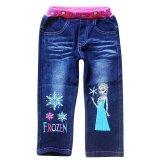 Toko Chloe S Clozette Celana Panjang Jeans Jl 01 Frozen Biru Lengkap Indonesia