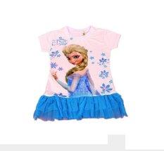 Diskon Produk Chloe S Clozette Dress Tutu Frozen Blue Dt 03