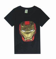 Kualitas Chloe S Clozette T Shirt Superhero Iron Man Hitam Chloe S Clozette