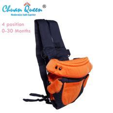 Beli Chuan Queen Baby Carrier 4 In 1 Gendongan Bayi Orange Chuan Queen