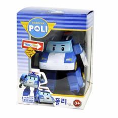 Jual Cl Kiddos Robocar Poli Mainan Anak Robot Police Car Blue Online