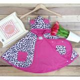Jual Clodi Babycape Jaket Tudung Leopard Pink Cuddle Me Grosir
