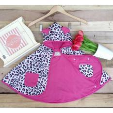 Jual Clodi Babycape Jaket Tudung Leopard Pink Cuddle Me Di Indonesia