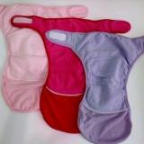 Jual Clodi Murah Popok Serap Untuk Bayi Baru Lahir Isi 3 Pcs Merah Ungu Pink Branded