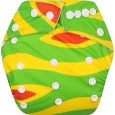 Clodistore Clodi Popok Kain Bayi Babyland Snap Microfiber Cloth Diaper - Flamboyan