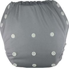 Jual Clodistore Clodi Popok Kain Bayi Cluebebe Pull Up Pant Solid Microfiber Cloth Diaper Grey Murah