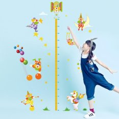 Jual Clowns Balloon Stars Height Measurement Wall Sticker Decal Home Paper Pvc Murals House Wallpaper Bedroom Kids Babys Living Room Art Picture Decoration Intl Oem Branded