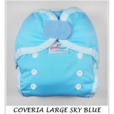 Ulasan Lengkap Tentang Cluebebe Coveria Large Polos Sky Blue