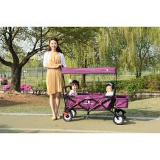 Ulasan Mengenai Cobimountain Baby Stroller Ungu