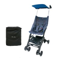 Beli Cocolatte Stroller Cl 688 Pockit With Bag Kereta Dorong Bayi Biru Denim Kredit Dki Jakarta