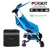 Jual Cocolatte Stroller Cl 788 New Reclining Pockit With Bag Kereta Dorong Bayi Biru Branded Original