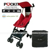 Review Cocolatte Stroller Cl 788 New Reclining Pockit With Bag Kereta Dorong Bayi Merah