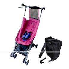 Beli Cocolatte Stroller Cl 789 New Reclining Pockit With Bagpack Kereta Dorong Bayi Purple Red Pakai Kartu Kredit
