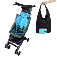 Cocolatte  Stroller CL-789 New Reclining Pockit With TOTE Bag - Kereta Dorong Bayi - Blue Green