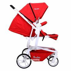 Cocolatte Stroller Quintas CL N121 - Kereta Dorong Bayi - Merah