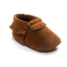 Jual Kopi Balita Baru Lahir Soft Sole Slip On Shoes Bayi Boys Girls Rumbai Sepatu S1396 Ekspor Branded Murah