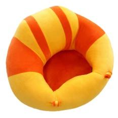 Nyaman Bayi Belajar Duduk Keselamatan Kursi Dukungan Bayi Kursi Sofa Plush Mainan Tipe L Orange-Intl