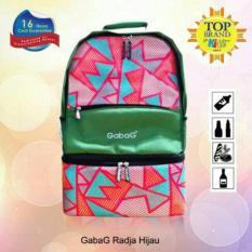 Cuci Gudang Cooler Bag Gabag Green Radja Coolerbag Ransel