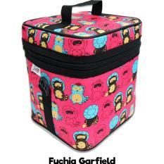 Miliki Segera Cooler Bag Ztwo Fuchia Garfield Tas Penyimpan Asip Atau Minuman Dingin