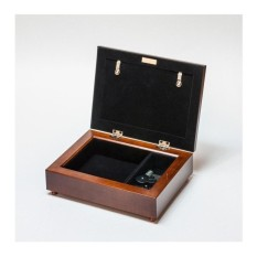 Cottage Garden Dearest Aunt Woodgrain Music Box / Jewellery BoxPlays Thats What Friends Are For - intl