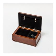 Cottage Garden For Someone Dear Woodgrain Petite Music Box /Jewellery Box Plays Light Up My Life - intl