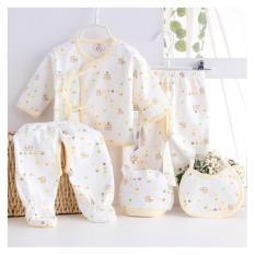 Promo Kapas Balita Baby Pakaian Hadiah Set Bayi Celana Suit Kuning Intl Akhir Tahun