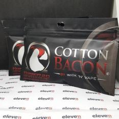 Cotton Bacon V 2.0 Wick N Vape Made In Usa Rda / Tank / Baterai / Mod - 76Cb35 - Original Asli