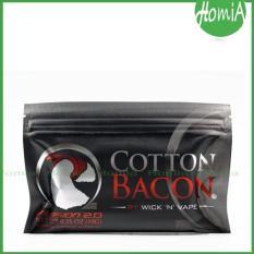 Cotton Bacon V2 By Wick N Vape  Kapas Organik Untuk Vaping - 9B9B5B - Original Asli