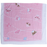 Harga Cotton Tree Towel Animal Pink Termahal